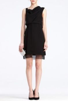 "Diane Von Furstenberg ""Rendezvous dress"". Beautiful draping on the top, like I prefer :)"