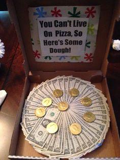 Money pizza