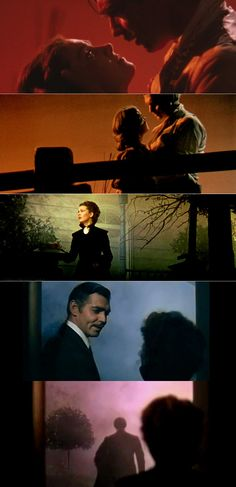 Gone With the Wind / Coloring (1939), d. Victor Fleming, George Cukor, Sam Wood, d.p. Ernest Haller & Lee Garmes
