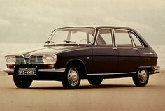 #Renault 16.  Mine was Maroon and matt.  I think there was something wrong with the paint, but it had a clever gear change on the steering column.