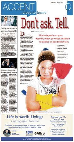 May 17, 2016#GrandForksHerald #Newspaperdesign #JanelleVonasek