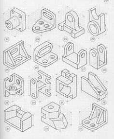 drafting practice iso to 3 view pg2.jpg (3936×4784)
