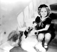 Shirley with dog