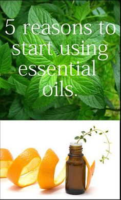 5 Essential Oils-I might try it