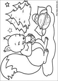 266 Christmas printable coloring pages for kids. Find on coloring-book thousands of coloring pages. Nativity Coloring Pages, Christmas Coloring Pages, Animal Coloring Pages, Coloring Book Pages, Printable Coloring Pages, Coloring Pages For Kids, Squirrel Coloring Page, Forest Animal Crafts, Christmas Squirrel
