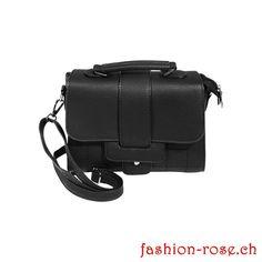 Modische Handtasche schwarz Outfits, Bags, Trends, Material, Fashion, Fashion Handbags, Elegant Woman, Artificial Leather, Shoulder