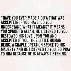 Did u ever make dua and was accepted❤❤❤❤❤❤❤ Imam Ali Quotes, Allah Quotes, Muslim Quotes, Quran Quotes, Religious Quotes, Faith Quotes, Strength Quotes, Encouragement Quotes, True Quotes