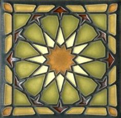Craftsman tile - for the fireplace?