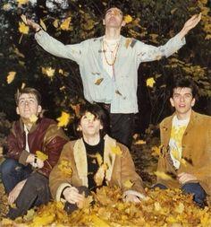 The Smiths at Kew Gardens, London, England (1983) ― photo by Derek Ridgers.