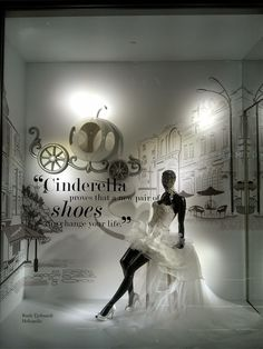 "ROCOCO,""Cinderella proves that a new pair of shoes can change your life"", pinned by Ton van der Veer"