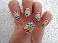 nail art nails dots dot manicure