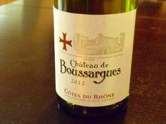 My review of Château de Boussargues 2012 Côtes Du Rhône Blanc