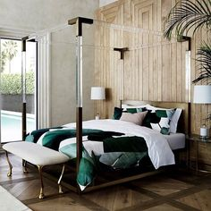 Modern Home Interior Design For The Beginner Minimalist Bedroom, Modern Bedroom, Master Bedroom, Bedroom Romantic, Warm Bedroom, Contemporary Bedroom, Master Suite, Home Decor Bedroom, Bedroom Furniture