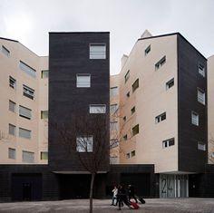 SOLID architecture Edificio de Viviendas Águila-Alcatel . madrid