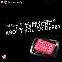 Hahahaha yup.  #Repost @jammercandy  Day 37/100 Tell everyone! #the100dayproject #rollerderby #derbylove #fightclub #derbylife #creative #photoshop #doodle #jammercandy #100daysofderbydoodles #soap #yycderby #yyc by crda_carhops