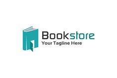 Book Store Logo Template Design by gunaonedesign on @creativemarket