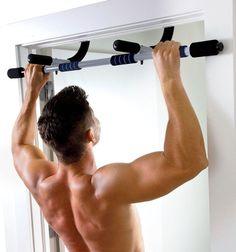 6d37dbcea7a Door Frame Pull-Up Bar Doorway Chin-Up Home Gym Equipment Upper Body Workout