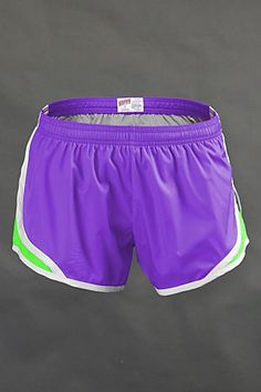 I love soffee running shorts... These purple ones are too cute! I want some in every color.