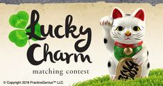 Lucky Charm Contest runs from Jan 29 - Jan 31, 2018. The winner wins 100 points. Participants earn 20 points.