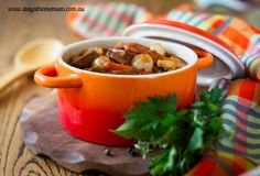 Beef and Red Wine Casserole takes a little while to prepare and cook, but if its done correctly the outcome is devine!