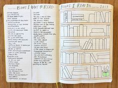 bullet journal books- TBR and R lists. for reading notebooks. make it visual! Bullet Journal Reading Log, Bullet Journal Bookshelf, Bullet Journal 2020, Bullet Journal Ideas Pages, Bullet Journal Layout, Bullet Journal Inspiration, Journal Sample, Journal Pages, Reading Notebooks