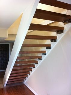 staircase, floating stairs, stairs, spiral, design of staircase, Rustoleum, Bioshield Aqua Resin Floor Finish,