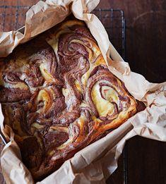 Brownies de Queso. #foodandtravelmx #recetas
