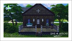 Sims 4 Designs: Old Wooden Fence