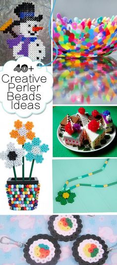 Creative Perler Beads Ideas!