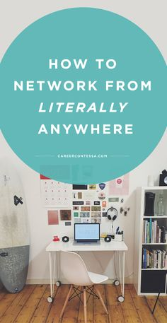 There are genuine (and secretly kind of easy) ways to network from literally anywhere. Don't believe us? Read the full story on CareerContessa.com