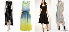 Spring 2012 trends : Midi dresses