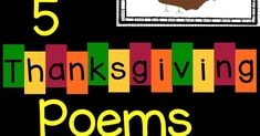 5 Thanksgiving Poems for Kids