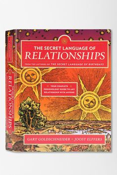 The Secret Language Of Relationships by Gary Goldschneider & Joost Elferrs #urbanoutfitters
