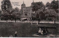 Richmond Theatre Richmond Palace, Richmond London, Richmond Upon Thames, Old London, Richmond Green, London Photos, Surrey, Old Photos, 18th Century