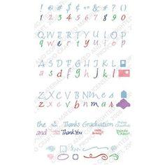 Calligraphy Collection Cricut Cartridge