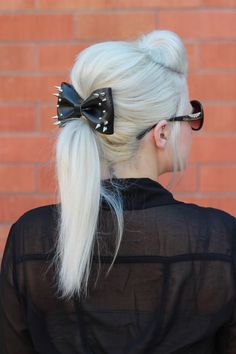 The Rebecca Glam Bow by SandisBowtique on Etsy, $15.00