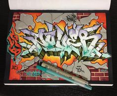 bad guys by NoverGWB on DeviantArt Graffiti Writing, Graffiti Alphabet, Graffiti Tattoo, Graffiti Lettering, Graffiti Wall, Street Art Graffiti, Graffiti Wildstyle, Amazing Street Art, Samurai Art