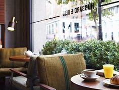 Hubbard & Bell: Foodie heaven in the Hoxton Hotel, Holborn Hoxton Hotel London, London Cafe, London Hotels, London Restaurants, Deli Cafe, Cafe Restaurant, Restaurant Design, Bell Home, Asian Garden