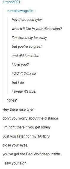 Hey there delilah dr.who style