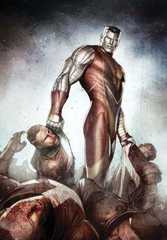 """Colossus - Piotr Nikolaievitch """"Peter"""" Rasputin Marvel Comics Art"""