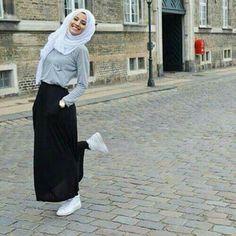 #Fashion #Ideas #Style #Outfits #ملابس #موضة #ستايل #أزياء #محجبات #Hijab