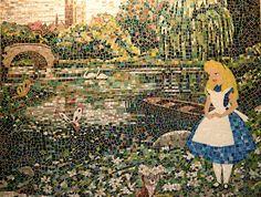 ~Alice and Wonderland~ Mosaic..Love