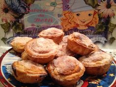 ,: Petits Gâteaux aux Haricots Blancs / Pasteis de Fe...