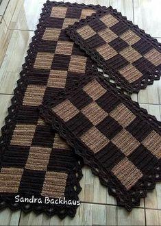 Crochet Coaster Pattern, Crochet Blanket Patterns, Crochet Shawl Free, Diy Crochet, Crochet Table Mat, Crochet Carpet, Crochet Curtains, Crafts To Do, Rugs On Carpet