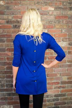 Button Back Tunics ~ 6 Colors! Only $21.99 (Orig. $42.99) For a limited time!