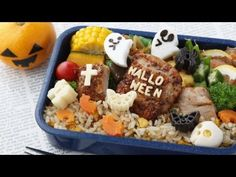 [Pretty simple character valve Recipe: How to make grave lunch How to make Halloween tomb Bento Halloween