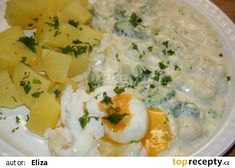 Cheeseburger Chowder, Risotto, Potato Salad, Mashed Potatoes, Food And Drink, Low Carb, Soup, Menu, Eggs
