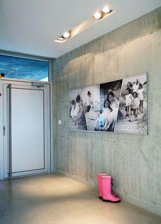 Concrete home - Hallway / Lighting