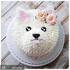 Woof you 😍😍 Puppy Birthday Cakes, Puppy Birthday Parties, Puppy Party, Birthday Cake Girls, Dog Birthday, Dog Cakes, Girl Cakes, Baby Cakes, 3d Cake Tutorial