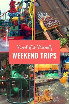 Weekend Trip Ideas Looking for family fun? Take a weekend trip during spring break. Have an exciting adventure with the Weekend Getaways With Kids, Weekend Trips, Day Trips, Family Weekend, Family Holiday, Family Life, Family Vacation Destinations, Vacation Trips, Vacation Spots